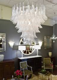 murano crystal and opaline glass chandelier by mazzega for sale at