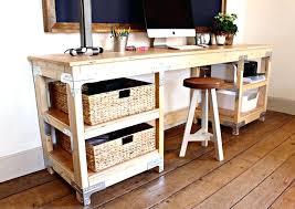faire un bureau en bois faire un bureau en bois rangement pour bureau ado faire avec des