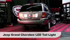 jeep grand cherokee led tail lights spyder auto installation 1999 2004 jeep grand cherokee led tail