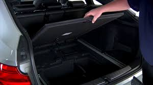 bmw cargo cover storage youtube