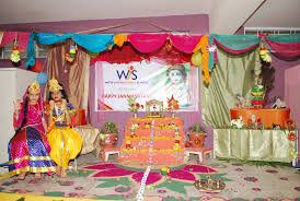 Janmashtami Home Decoration On The Top Of The World Janmashtami Celebration Wis Bhilwara