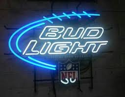 bud light nfl neon sign bud light official nfl neon sign general in modesto ca offerup