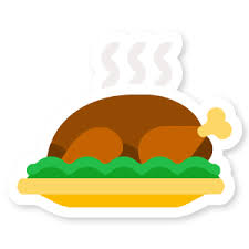 thanksgiving stickers foursquare swarm on it s turkey time we ve got two new