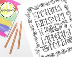 snarky coloring etsy
