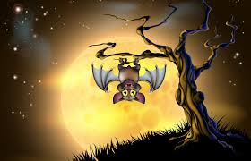 the halloween tree background bats halloween background