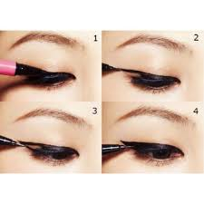 liquid eyeliner tutorial asian how to draw the perfect winged eyeliner younique pigments when