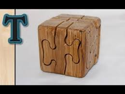 Wood Projects Youtube by Woodworking Project Puzzle Cube Youtube