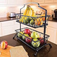 fruit basket stand upc 712883750230 fruit basket stand wrought iron holder