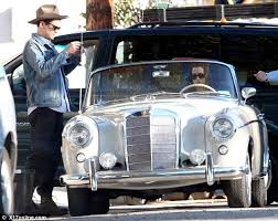 mercedes vintage katy perry and mayer spotted with a vintage mercedes