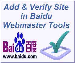 Webmaster by Add And Verify Site In Baidu Webmaster Tools Webnots