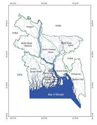 Map Of North East Map Of Bangladesh Indicating The North West North East
