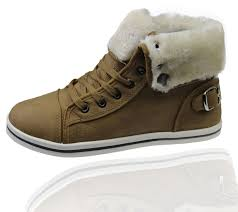 ebay womens winter boots size 11 womens warm lined boots high top ankle trainer sneaker