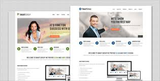 smartgroup clean marketing theme by templatesquare