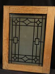 etched glass kitchen cabinet doors antique oak cabinet doors with deco design etched glass