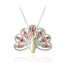 db designs tri color gold over silver 1 10ct tdw red diamond