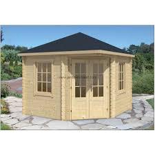 bureau de jardin en kit abri jardin contemporain chalet en kit ingrid 28mm 10m2 fenetre verre