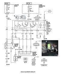 fuse box location heater blower motor 1994 cherokee diagram