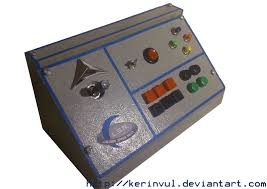 halloween controller spaceship control panel u0027 game controller by kerinvul on