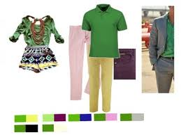 what color pants look good with green shirts clothing and