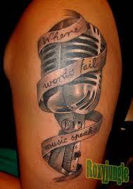 rip tattoo fail microphone tattoo by karolyi deviantart com on deviantart where