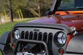 matte tan jeep bug deflector matte black 07 17 jeep wrangler jk jeepmania