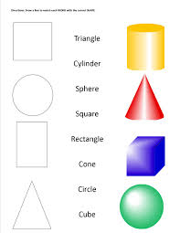 geometric shapes u0026 solids worksheet staar alt ideas pinterest