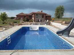 pool in ground pool kits fiberglass inground pool kit above