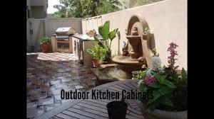outdoor kitchen cabinets outdoor kitchen appliances youtube