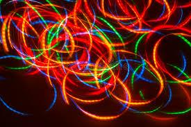 magic moving lights stock image image of flying 1278199