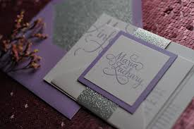 purple and silver wedding invitations lavender and silver wedding invitations purple wedding invitations