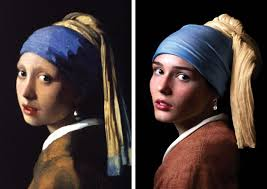 painting girl with a pearl earring recreating girl with a pearl earring study from the masters