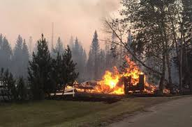 Wildfire Bc Clinton by New Evacuation Alert For Area East Of Highway 97 North Of 100