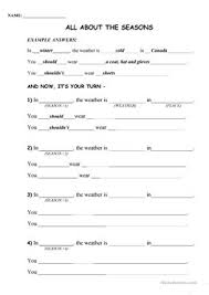 17 free esl clothes matching worksheets