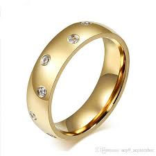 wedding ring brand stainless steel rings for men wedding band ring 2017 brand jewelry