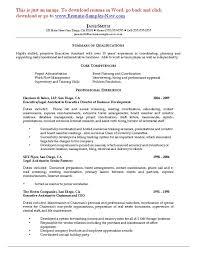 Non Profit Resume Resume Writing For Non Profit
