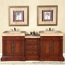 Bathroom With Two Vanities Bathrooms With Double Vanities Sink Bathroom Vanity O Cabinets