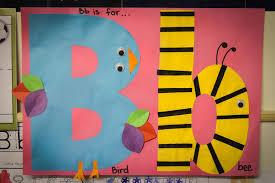 preschool letter b in my world
