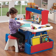 play desk for creative projects table kids art desk step2