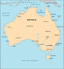 map of australia map australia centre for intercultural learning