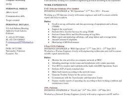 Mechanical Foreman Resume Download Certified Electrical Engineer Sample Resume