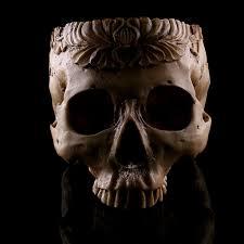 Tooth Shaped Planter Amazon Com Magideal Human Skull Head Flower Pot Planter Bed Box