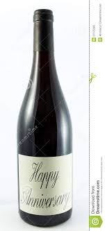 anniversary wine bottles wine happy anniversary 1 stock image image of vino occasion