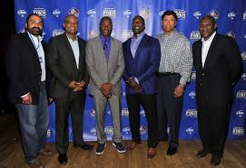 is bud light made with rice jerry rice and anthony munoz photos photos bud light nfl pre draft