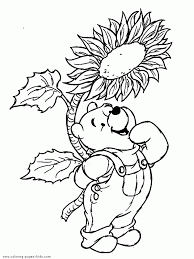 disney fall coloring pages free images coloring disney fall