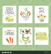 easter quotes wonderful handwritten spring easter quotes amazing stock vector