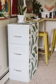 metal desk with file cabinet diy file cabinet desk tutorial filing eye and painted filing cabinets