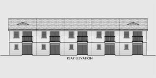 house plans multi family living
