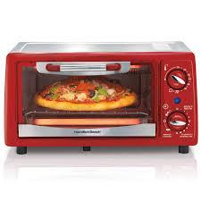 Toaster Oven Pizza Hamilton Beach 4 Slice Capacity Toaster Oven 31133