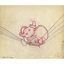 original production drawing from dumbo
