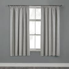 elegance silver grey damask thermal pencil pleat curtains pair